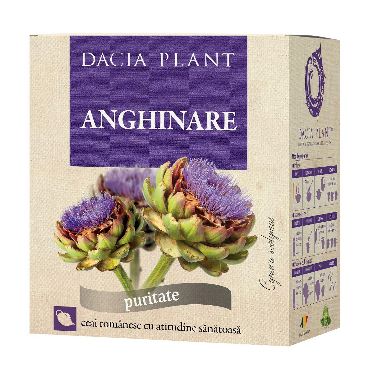 Ceai de Anghinare, 50g, Dacia Plant drmax.ro