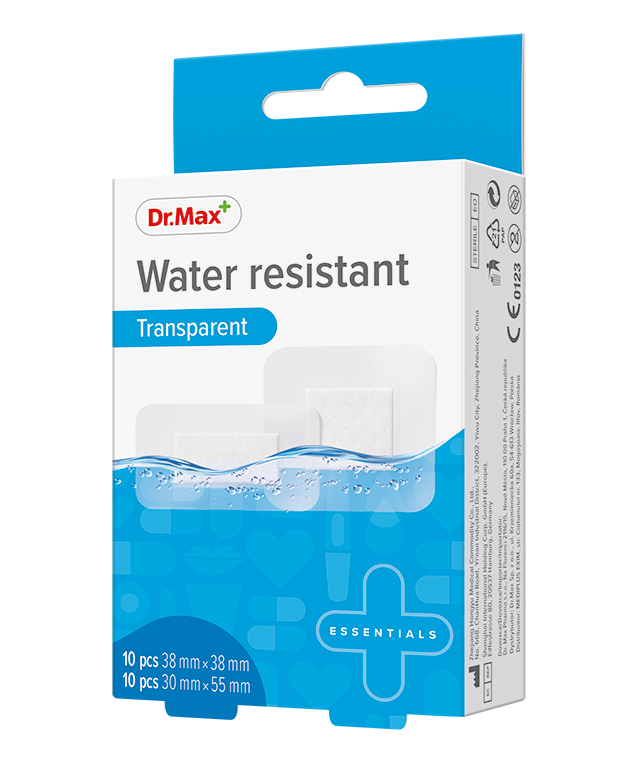 Dr.Max Plaster Water Resistant 38X38,30X55Mm*20Buc imagine produs 2021
