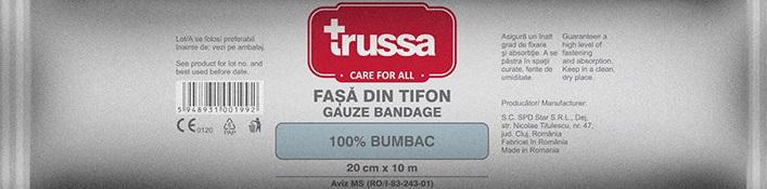 Trussa Fasa Tifon 20cmx10m
