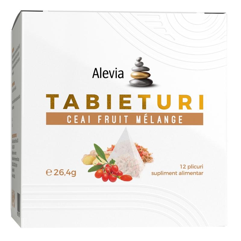 Ceai fruit melange Tabieturi, 12 plicuri, Alevia imagine produs 2021