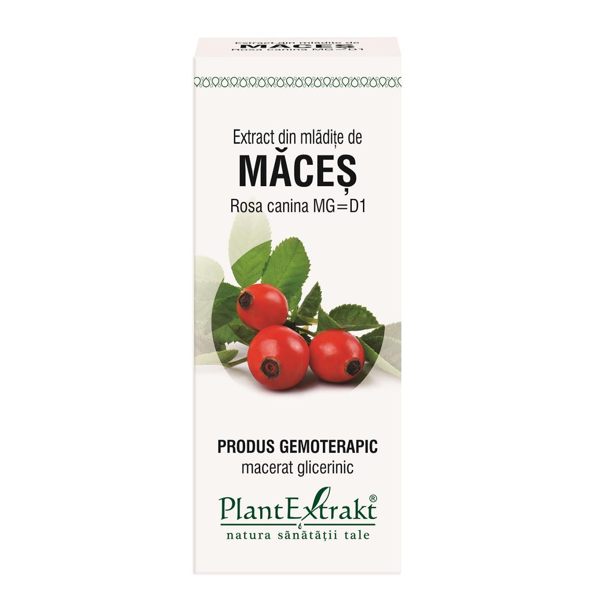 Extract din mladite de maces, 50ml, Plant Extract drmax.ro