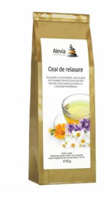 Ceai de relaxare, 35g, Alevia imagine produs 2021