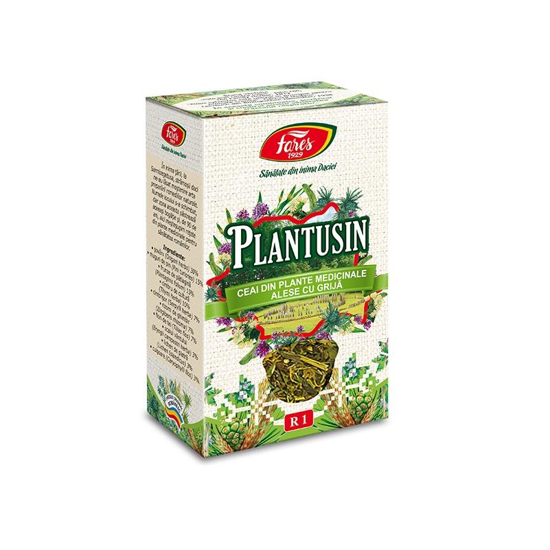 Ceai Plantusin, 50 g, Fares drmax.ro