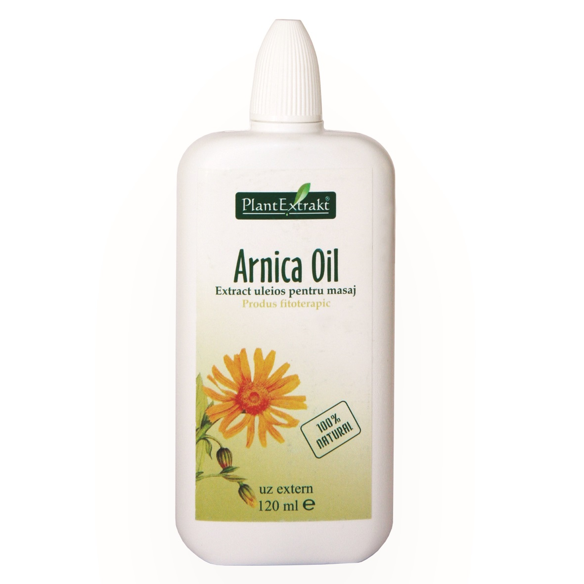 Ulei de arnica, 120ml, PlantExtrakt imagine produs 2021