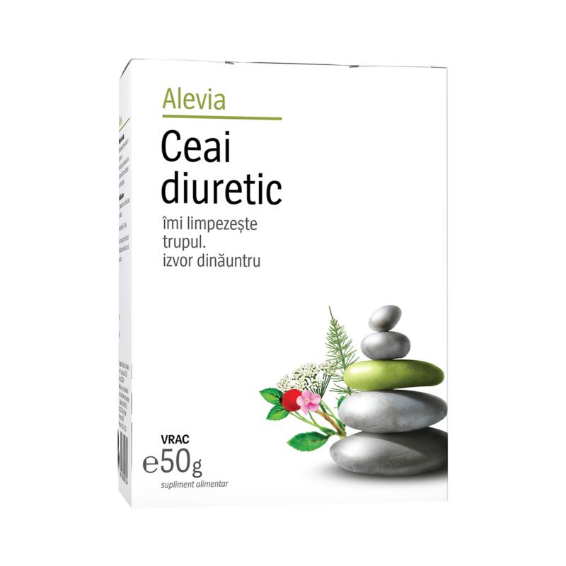 Ceai diuretic, 50g, Alevia drmax.ro