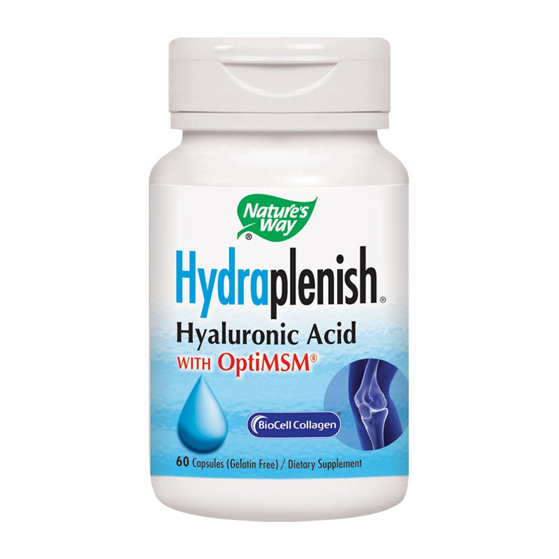 Hydraplenish Plus MSM Nature's Way, 60 capsule, Secom drmax poza