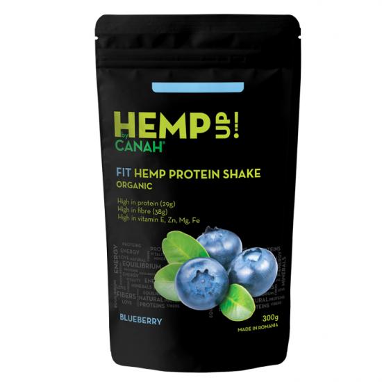 Shake proteic de canepa ECO FIT Hemp Up, 300g, Canah drmax.ro