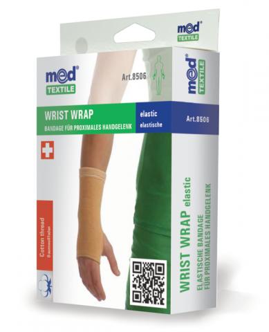 Bandaj elastic pentru incheietura mainii L, 1 bucata, MedTextile drmax.ro