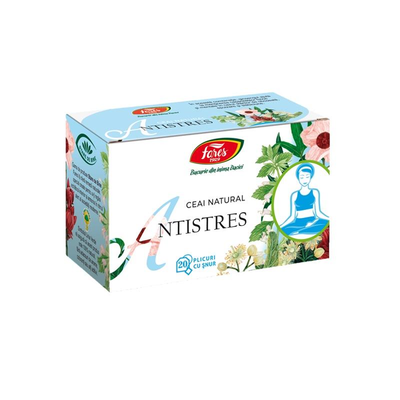 Ceai Antistres, 20 plicuri, Fares drmax.ro