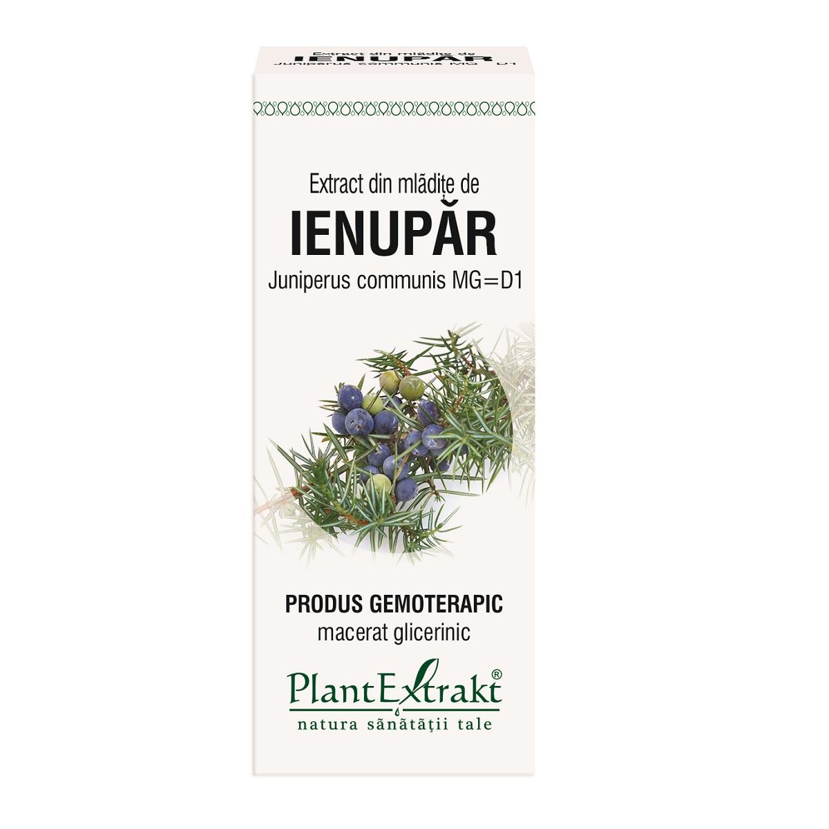 Extract din mladite de Ienupar, 50ml, PlantExtrakt drmax.ro