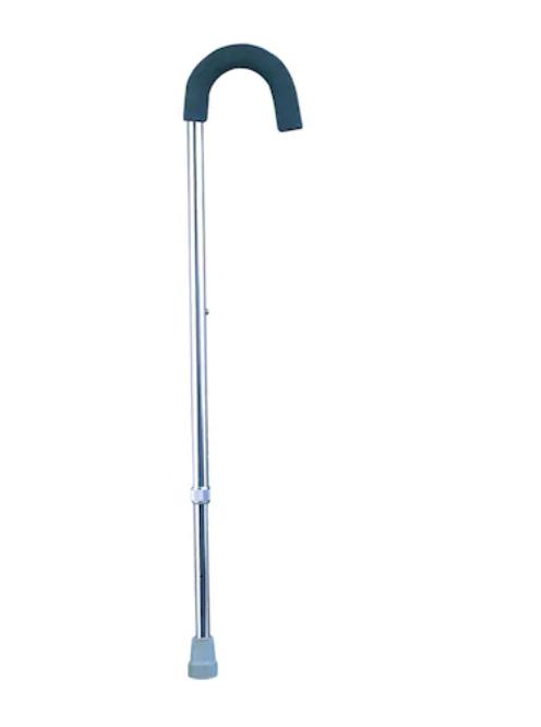 Baston reglabil din aluminiu cu maner curbat, 75-98cm, Pansiprod