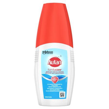 Lotiune spray Family Care impotriva tantarilor, 100ml, Autan imagine produs 2021
