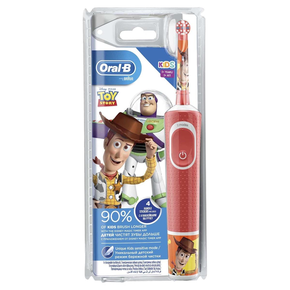 Periuta de dinti electrica Vitality Toy Story 3 ani+, 1 capat, Oral-B imagine drmax.ro