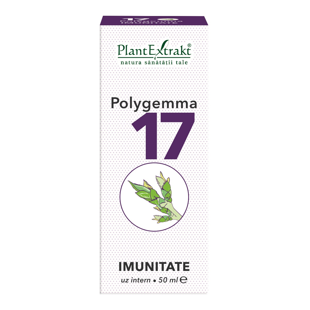 Polygemma 17 Imunitate, 50ml, Plant Extrakt imagine produs 2021