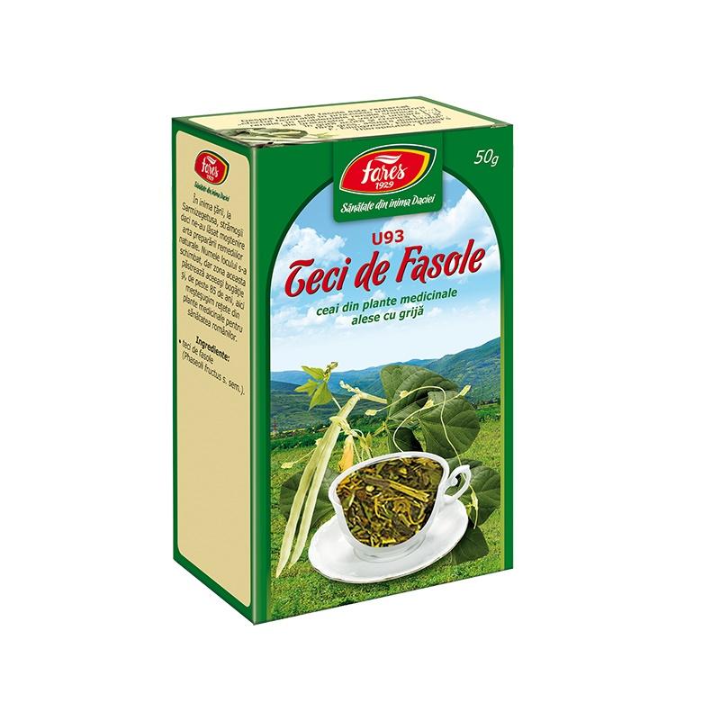 Ceai Teci de fasole U93, 50g, Fares drmax.ro