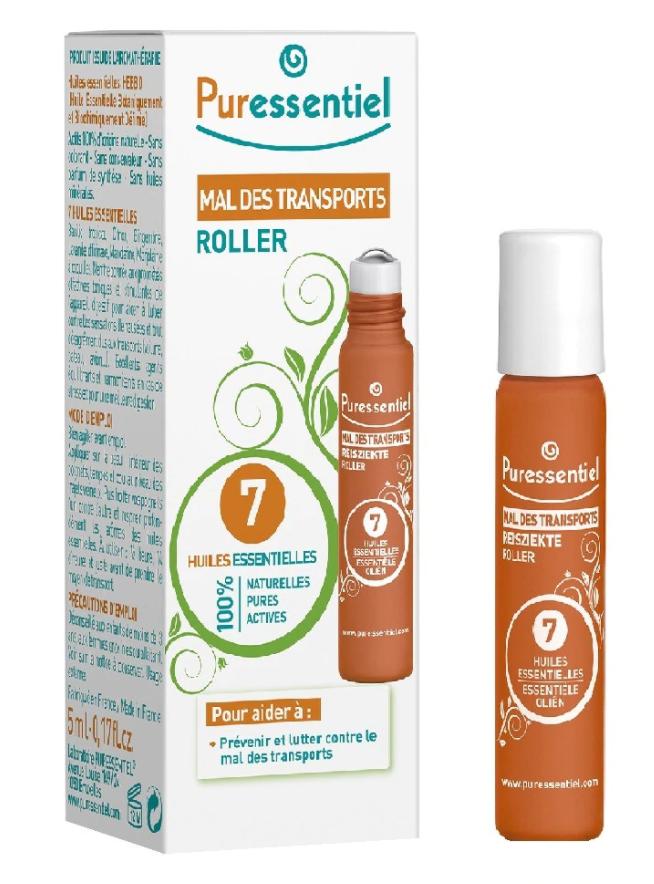 Roll-on pentru rau de miscare cu 7 uleiuri esentiale, 5ml, Puressentiel drmax poza
