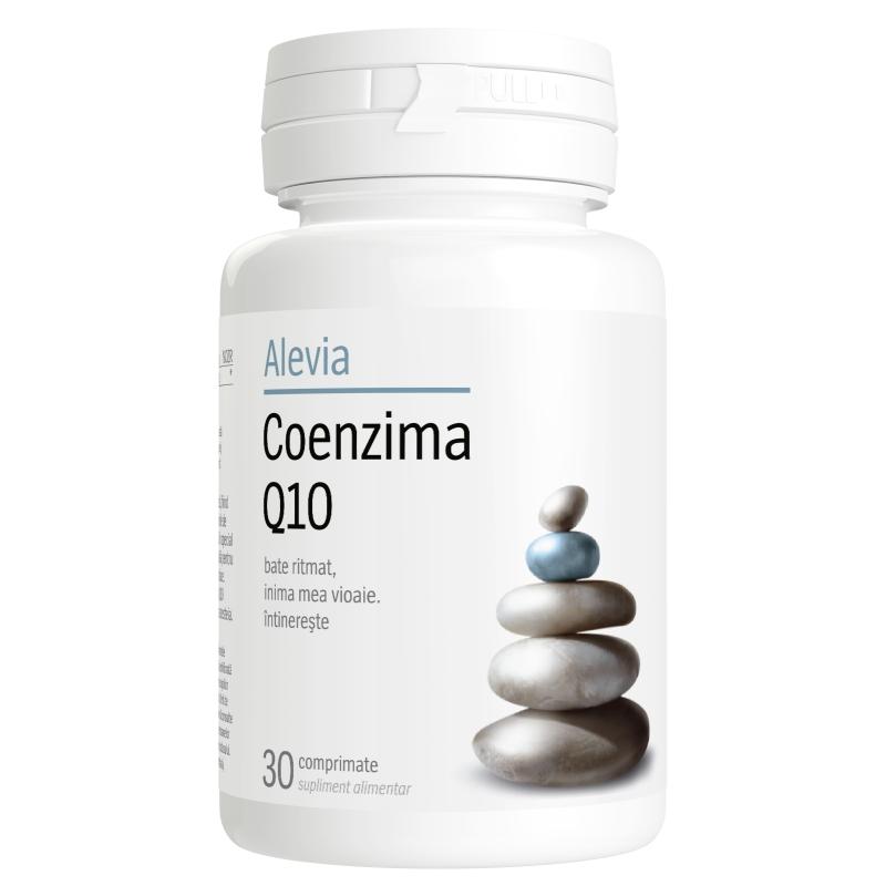 Coenzima Q10 60mg, 30 comprimate, Alevia imagine produs 2021