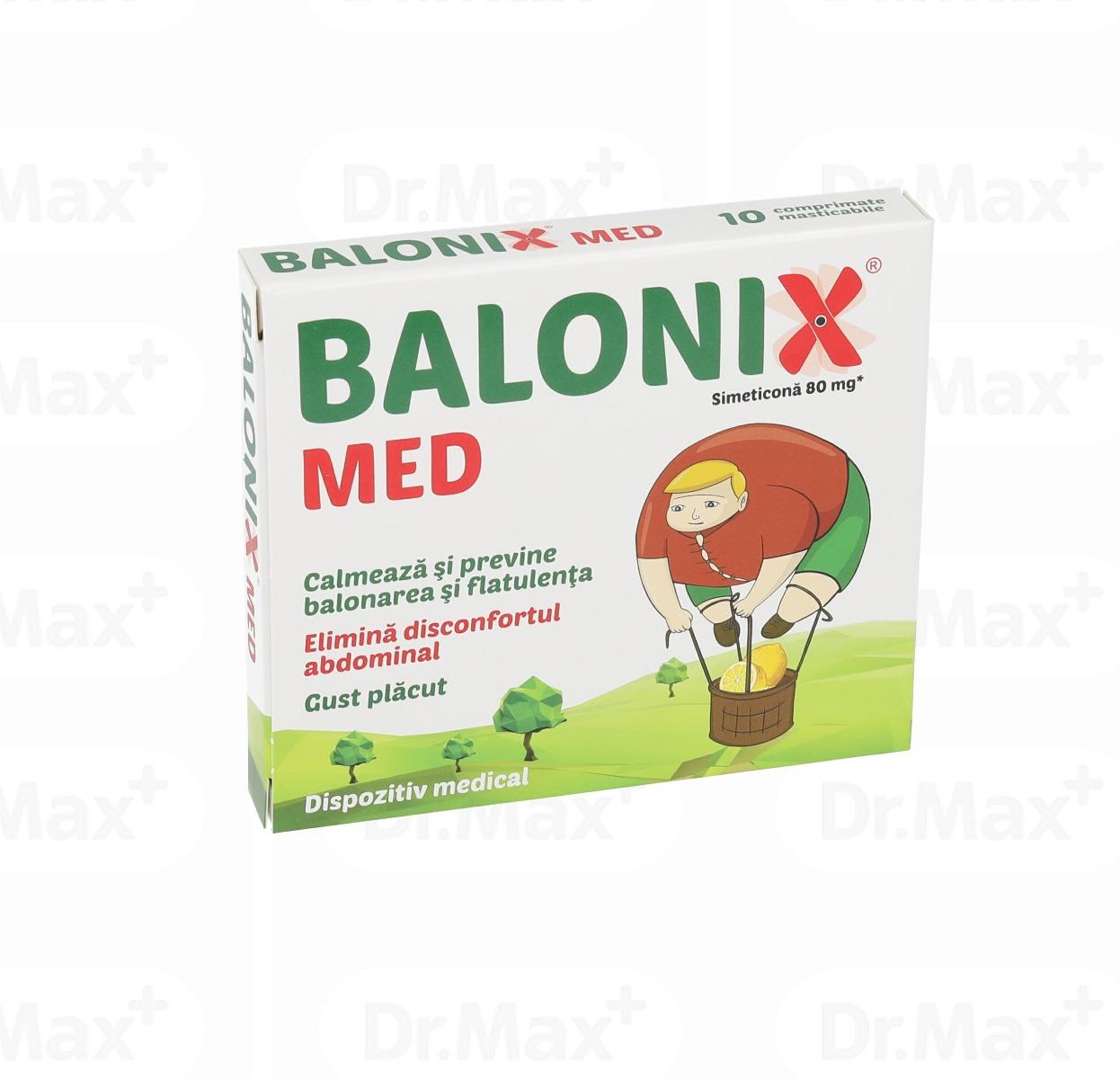 Balonix Med, 10 comprimate, Fiterman la preț mic imagine