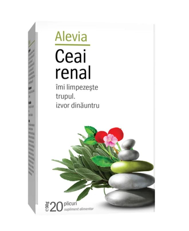 Ceai renal, 20 plicuri, Alevia drmax.ro
