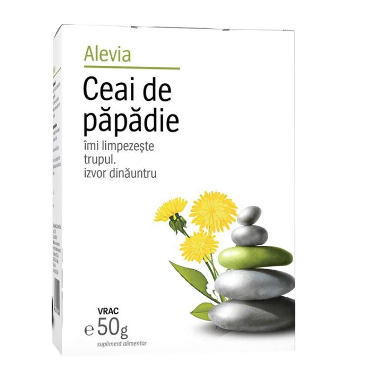 Ceai de papadie, 50g, Alevia drmax.ro