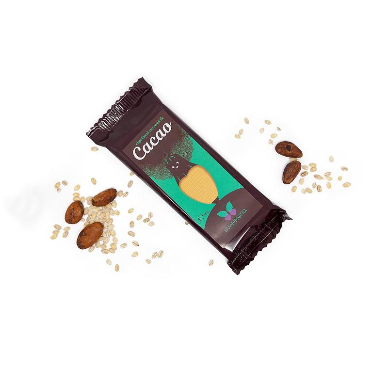 Napolitana cu cacao (Green Sugar), 40g, Sweeteria drmax.ro