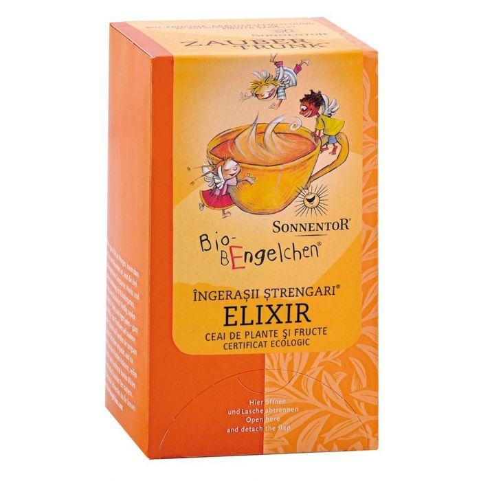 Ceai Bio Ingerasii Strengari Elixir, 20 plicuri, Sonnentor drmax poza