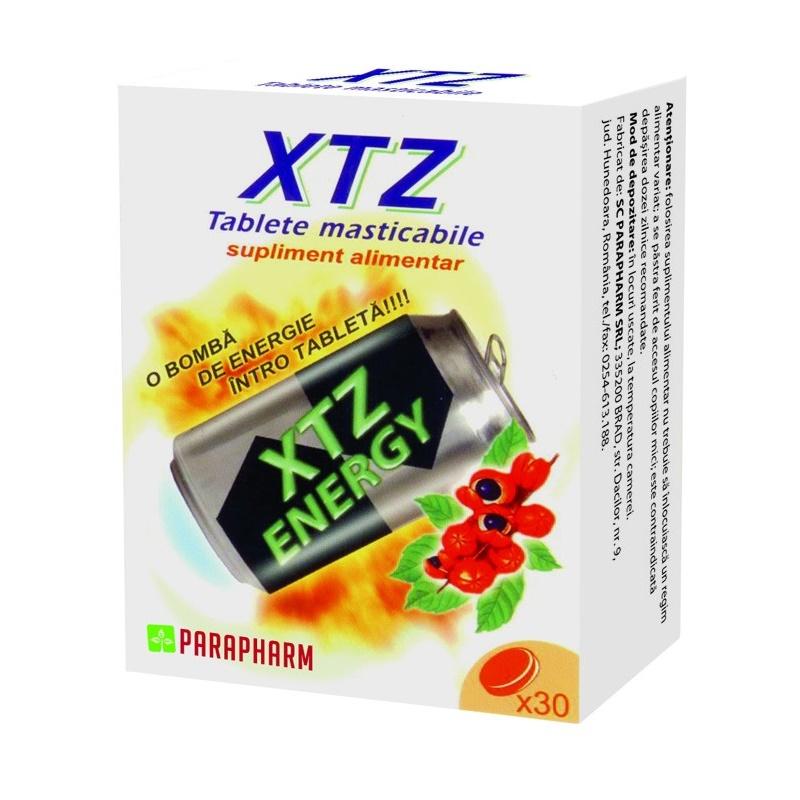 Xtz Energy, 30 tablete, Parapharm imagine produs 2021