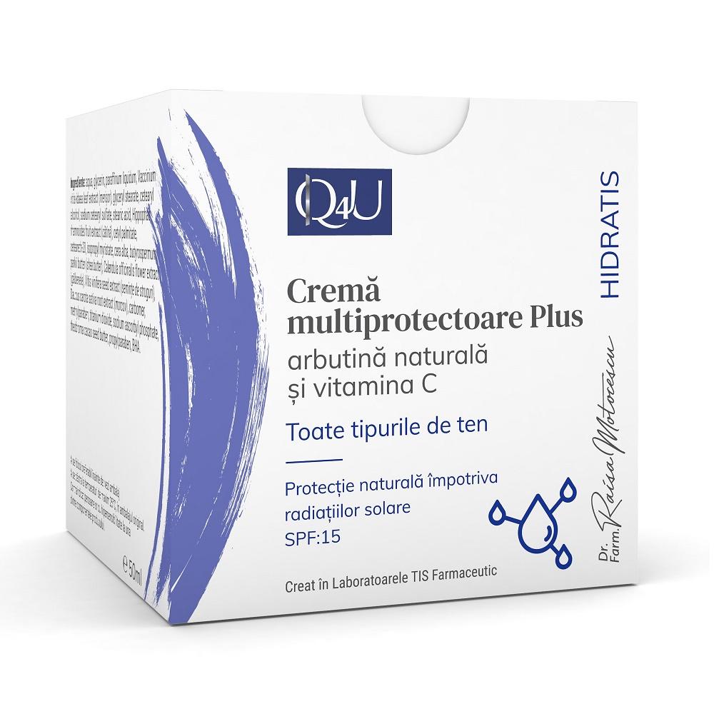 Crema multiprotectoare Plus Q4U, 50ml, Tis Farmaceutic drmax.ro
