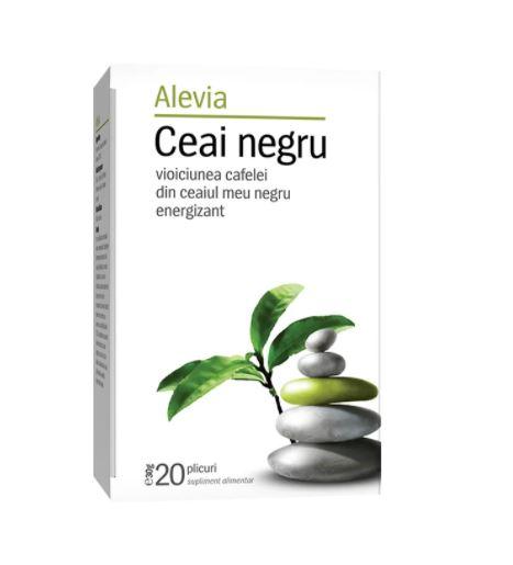 Ceai Negru, 20 plicuri, Alevia drmax.ro