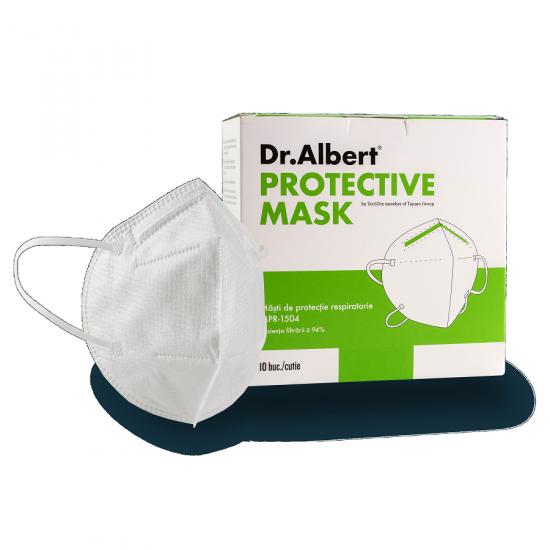 Masti de protectie de tip FFP2 Dr. Albert, 10 bucati, Techtex drmax poza