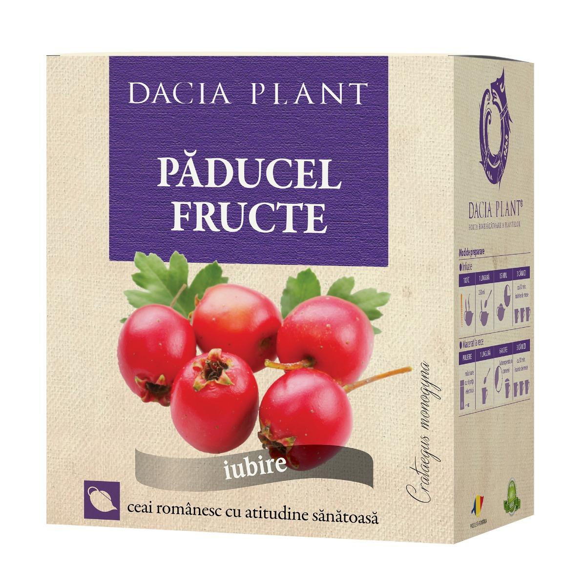 Ceai de paducel fructe, 50g, Dacia Plant drmax.ro
