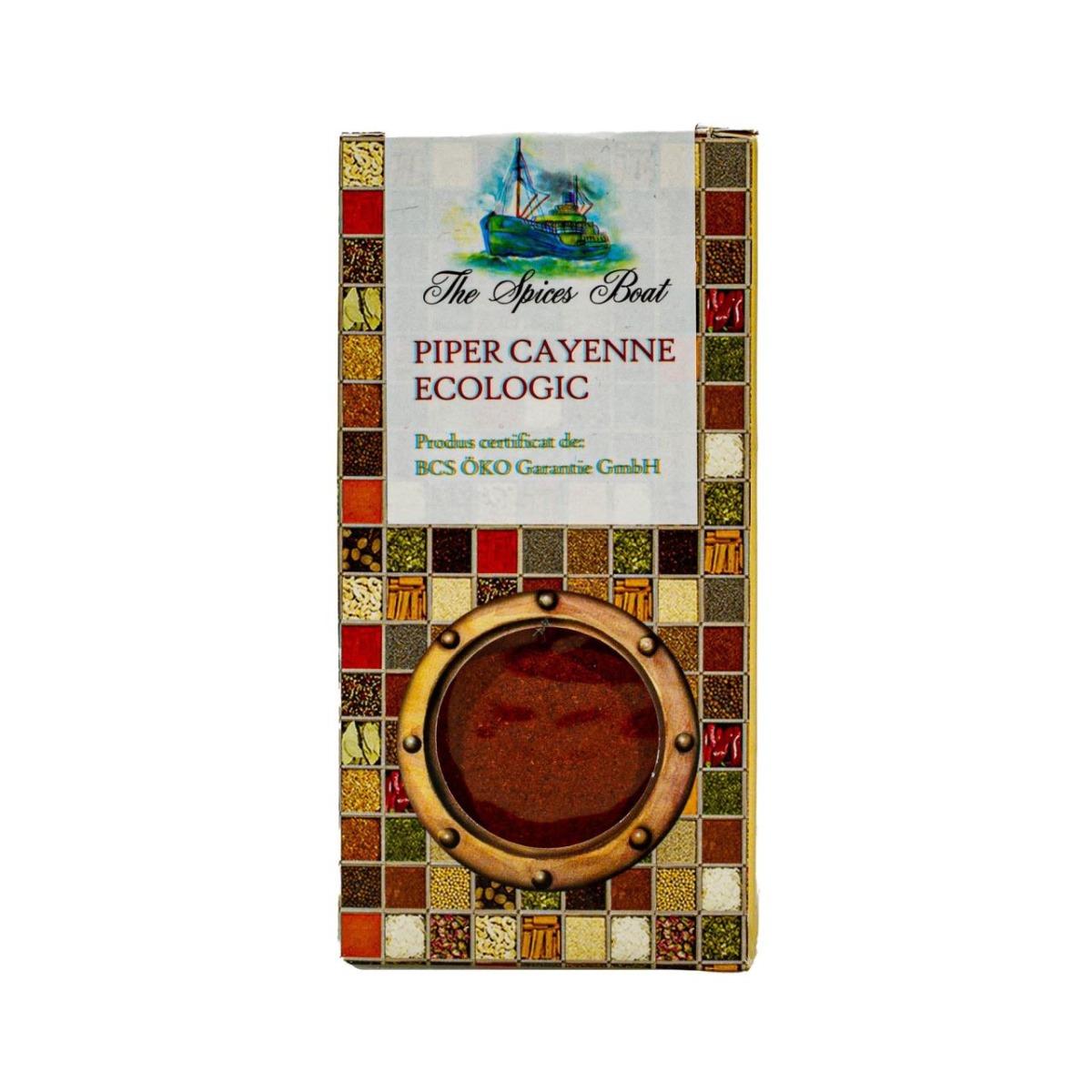 Piper Cayenne Eco, 40g, Solaris drmax poza