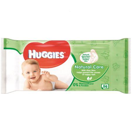 Servetele umede pentru copii cu aloe vera, 56 bucati, Huggies
