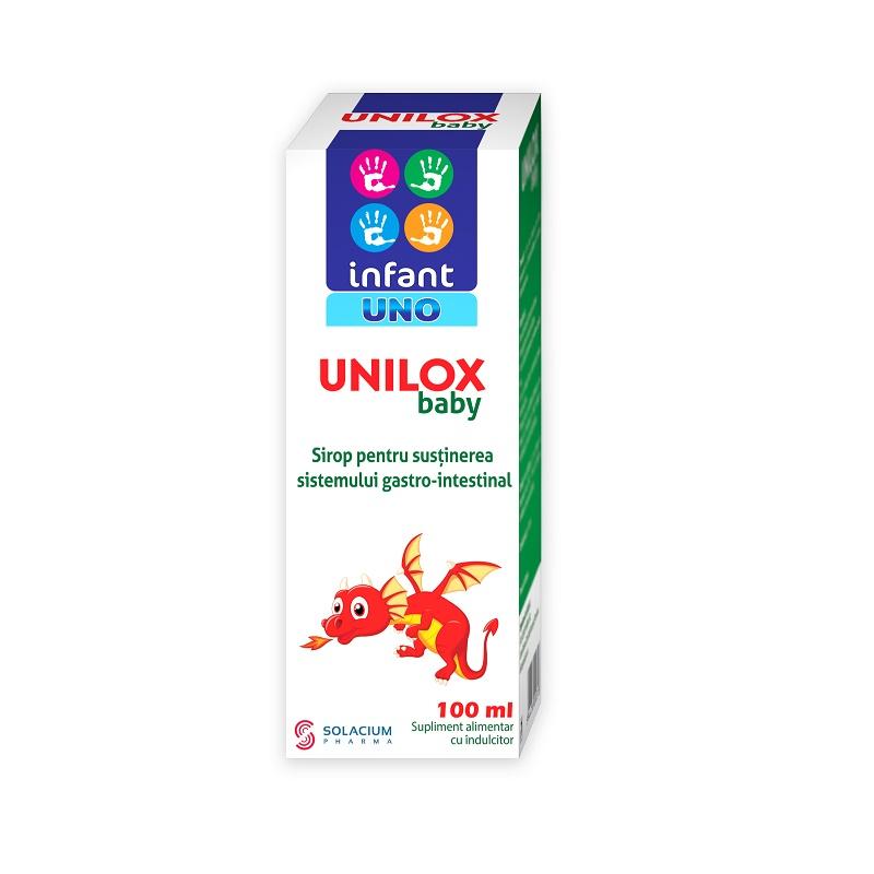 Sirop Unilox baby, 100 ml, Solacium