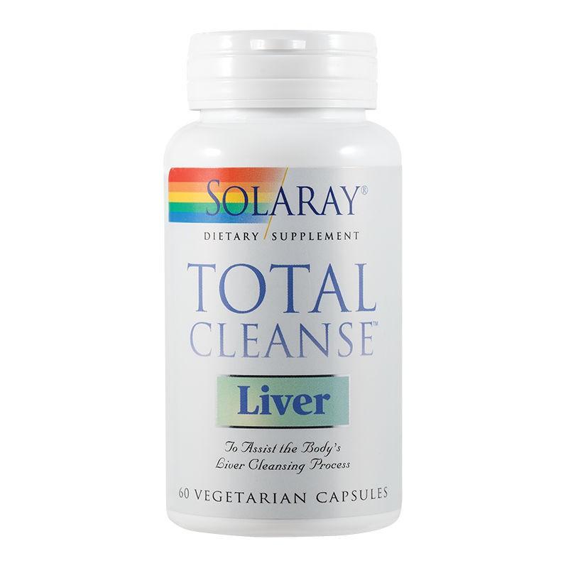 Solaray Total Cleanse Liver, 60 capsule, Secom imagine produs 2021