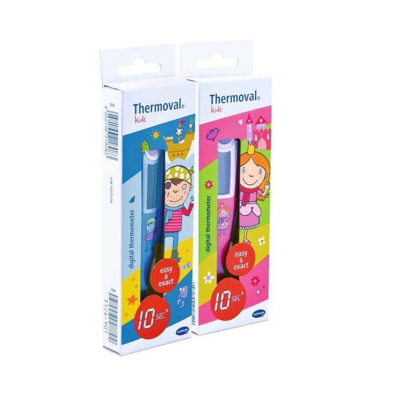Termometru digital cu timp scurt de masurare Thermoval Kids, 1 bucata, Hartmann drmax.ro