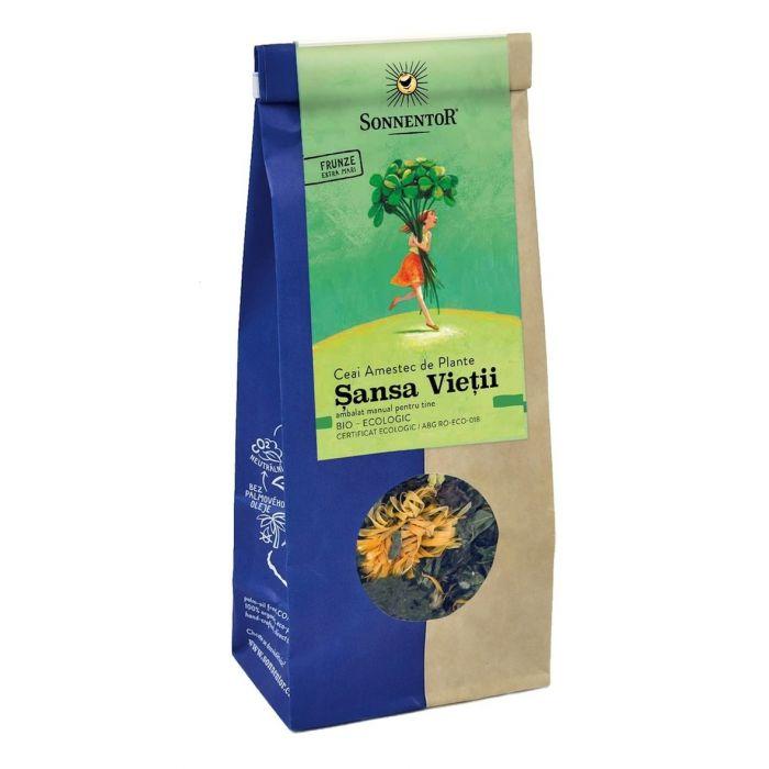Ceai Bio Sansa Vietii, 50g, Sonnentor drmax.ro