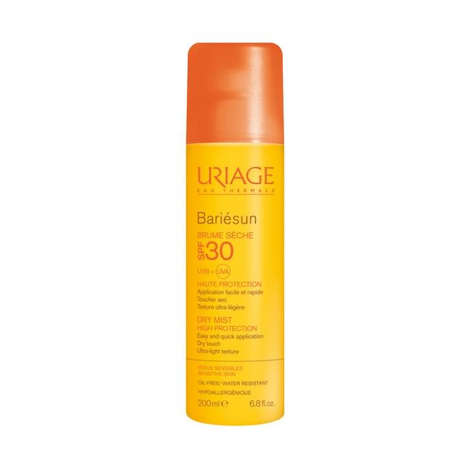 Spray protectie solara SPF 30 Bariesun, 200 ml, Uriage drmax.ro