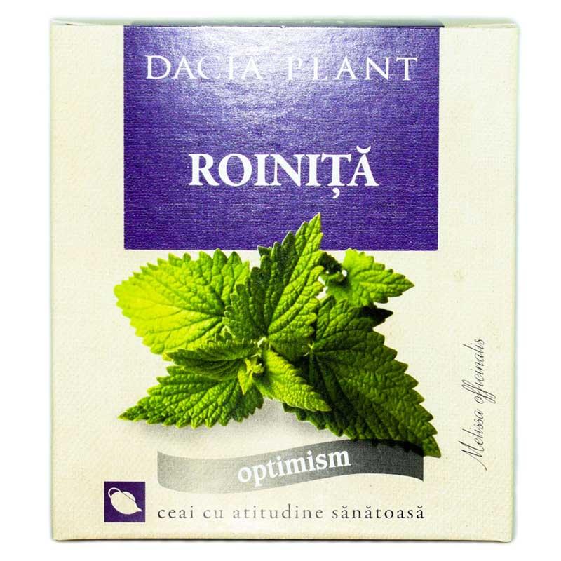 Ceai de roinita, 50g, Dacia Plant drmax.ro