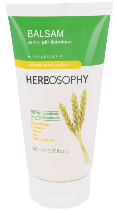 Herbosophy, Balsam cu proteine din grau, 150ml imagine produs 2021
