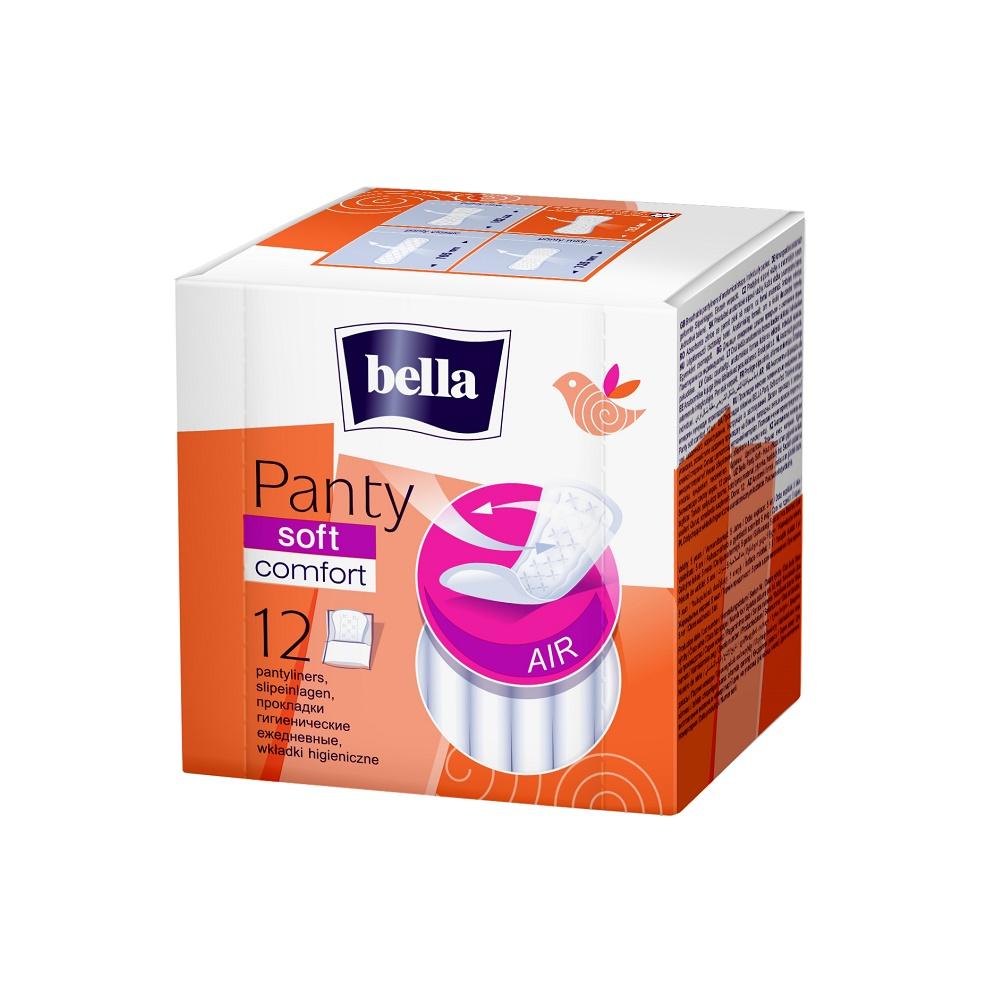 Absorbante zilnice Panty Soft, 12 buc, Bella imagine produs 2021