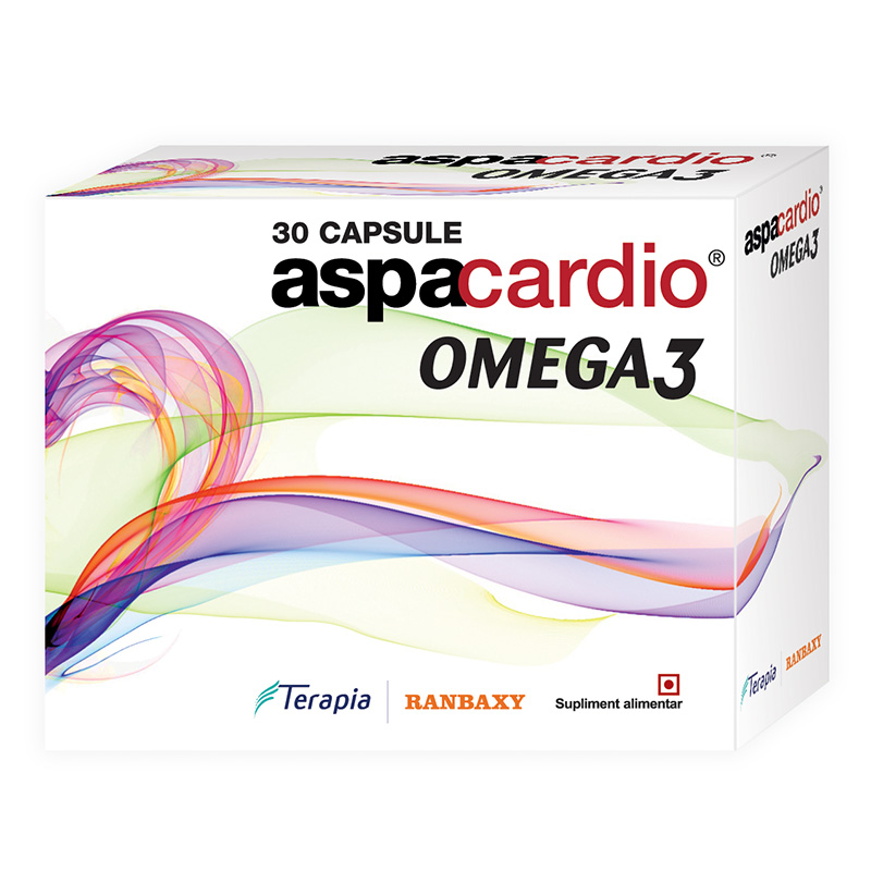 Aspacardio Omega 3, 30 capsule, Terapia imagine produs 2021