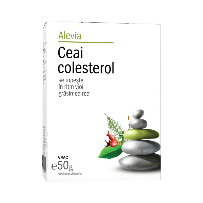 Ceai colesterol, 50g, Alevia drmax.ro