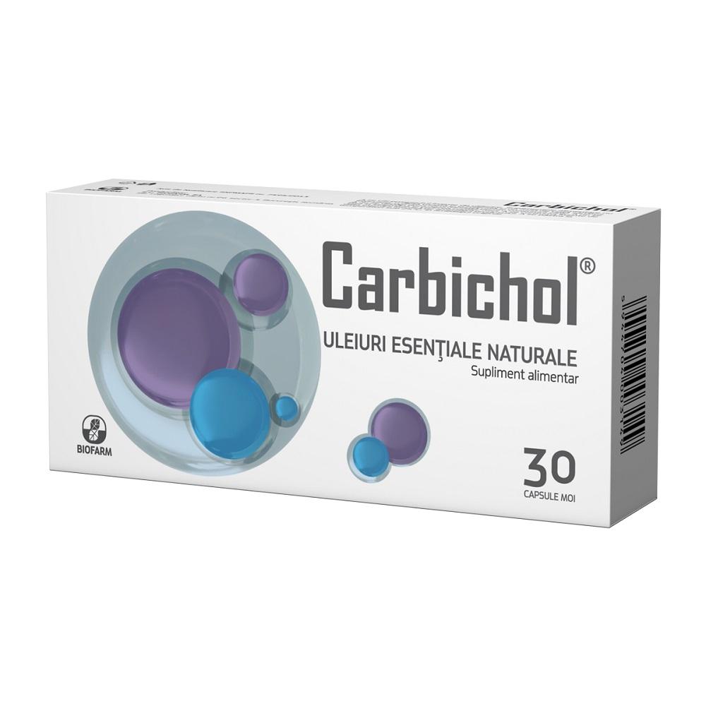Carbichol, 30 capsule, Biofarm drmax.ro