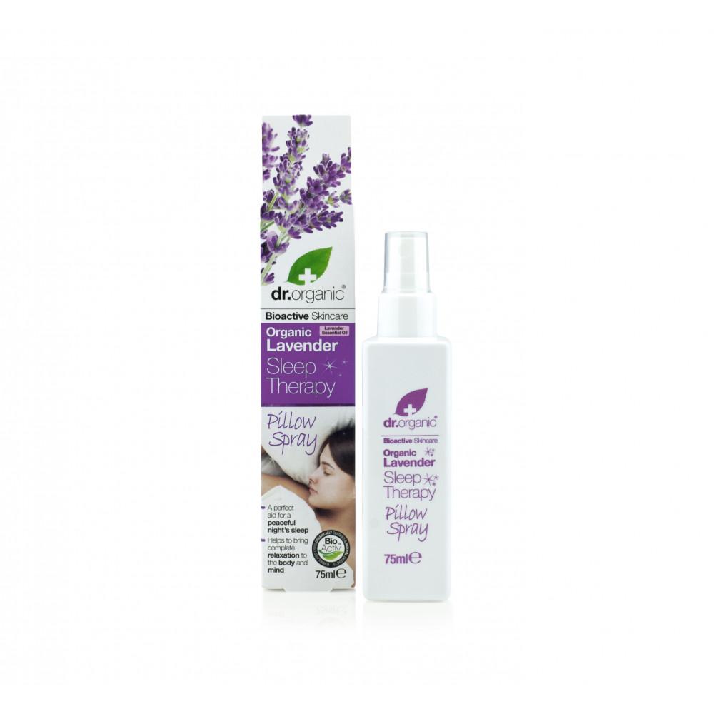 Spray cu lavanda relaxant pentru perna, 75ml, Dr. Organic drmax poza