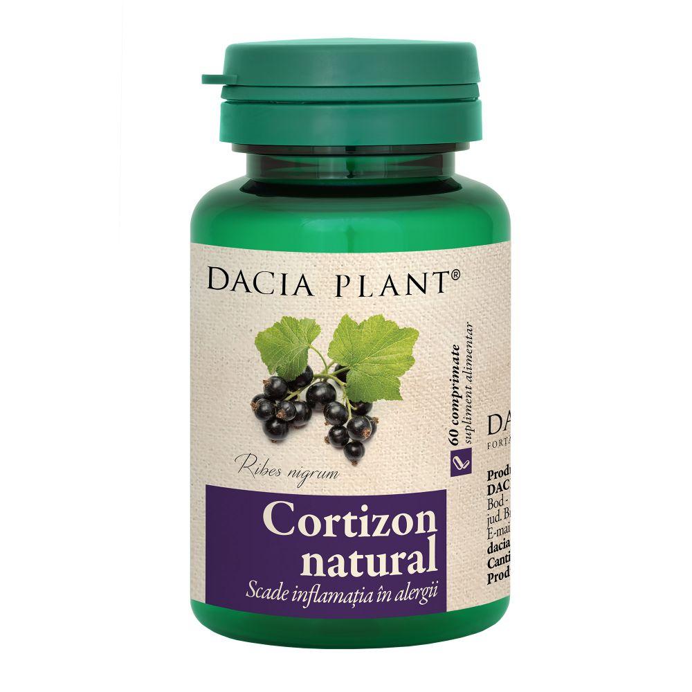 Cortizon Natural, 60comprimate, Dacia Plant drmax.ro