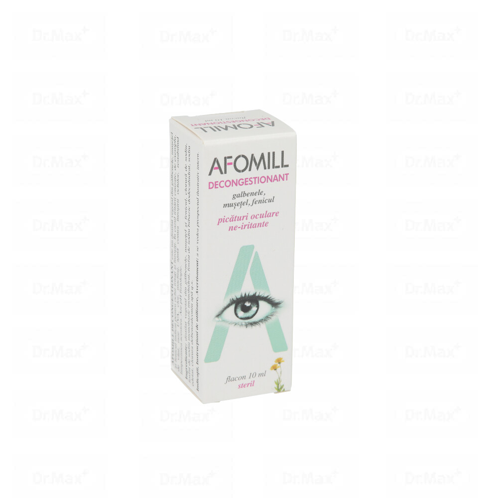 Picaturi Afomill decongestionant, 10 ml, AF United imagine produs 2021