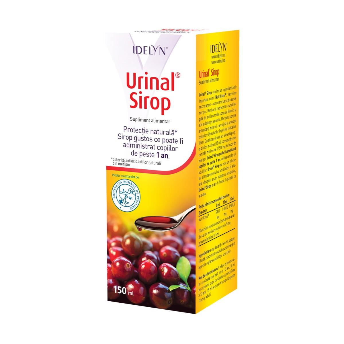 Urinal sirop, 150 ml, Walmark drmax.ro