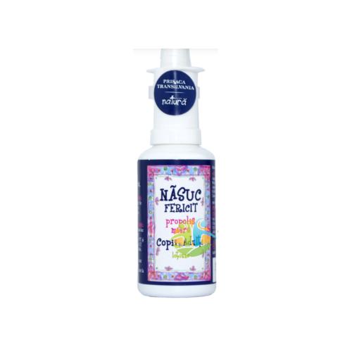 Spray de nas pentru copii Nasuc Fericit, 50ml, Prisaca Transilvania drmax.ro