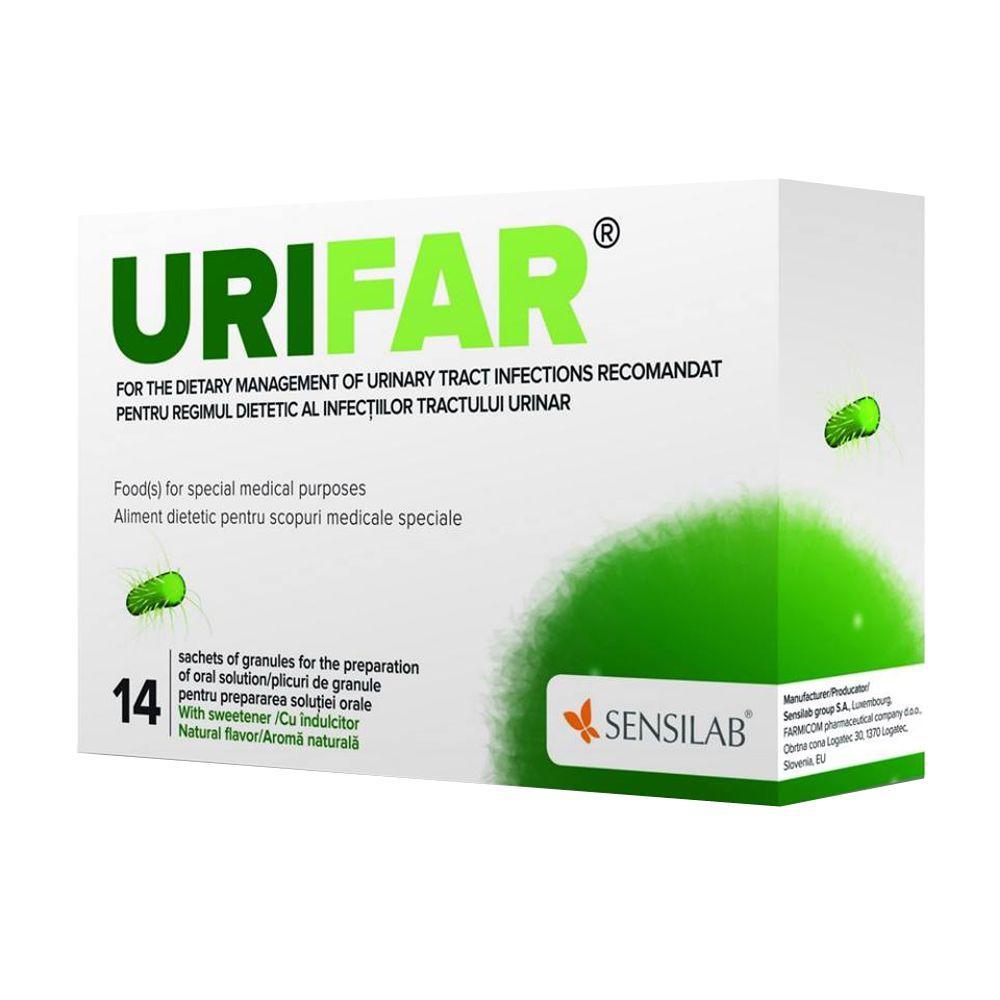 Urifar, 14 plicuri, Sensilab imagine produs 2021